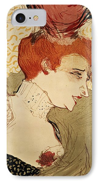 Mlle Marcelle Lender IPhone Case