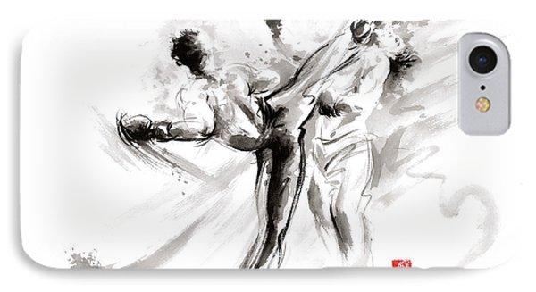 Mma Martial Arts IPhone Case by Mariusz Szmerdt