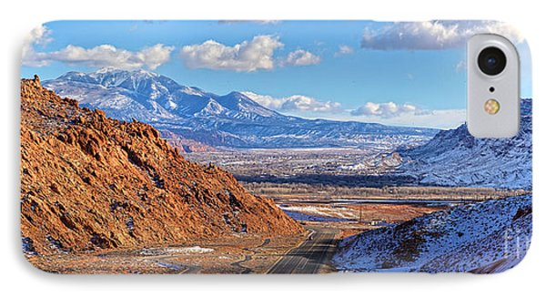 Moab Fault Medium Panorama Phone Case by Adam Jewell