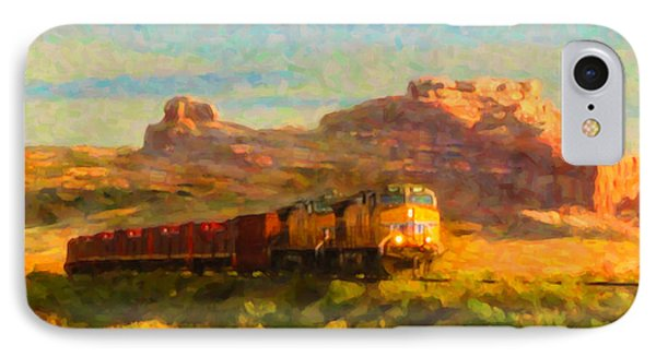 IPhone Case featuring the digital art Moab Morning by Chuck Mountain