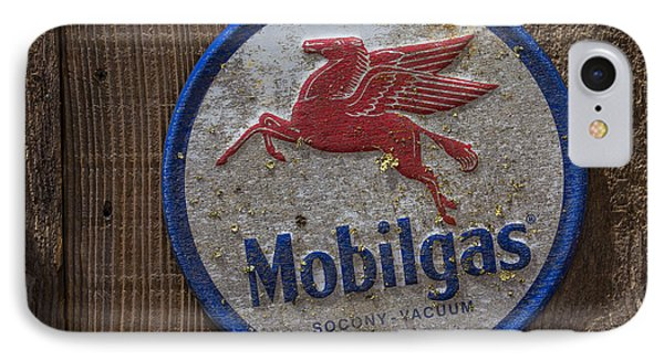 Mobil Gas Sign IPhone 7 Case