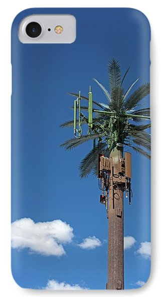 Mobile Phone Communications Tower IPhone Case by Jim West