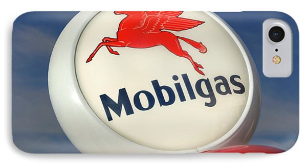 Mobilgas Globe Phone Case by Mike McGlothlen
