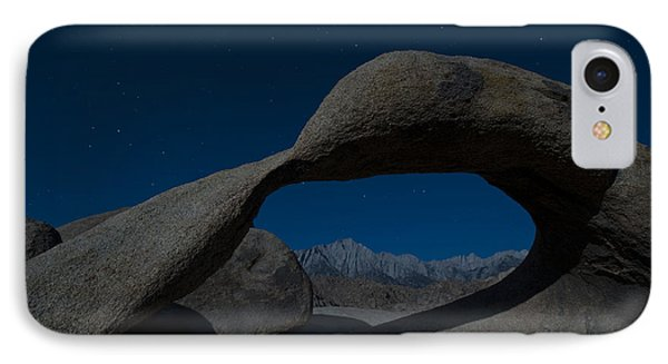 Mobius Arch, Alabama Hills IPhone Case by John Shaw