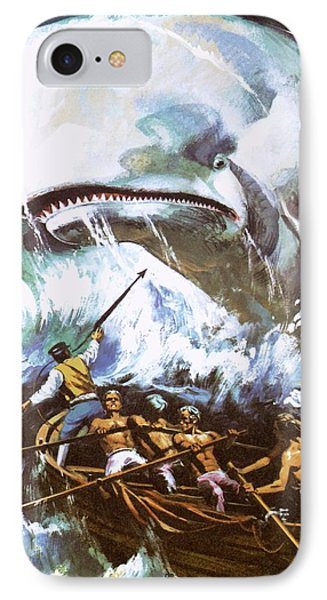 Moby Dick IPhone Case by English School