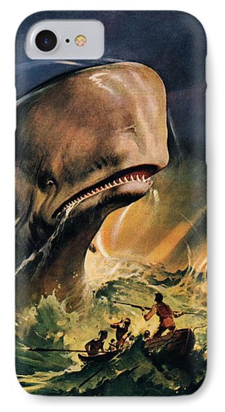 Moby Dick IPhone Case by James Edwin McConnell