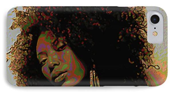 Mocha Diva IPhone Case by  Fli Art