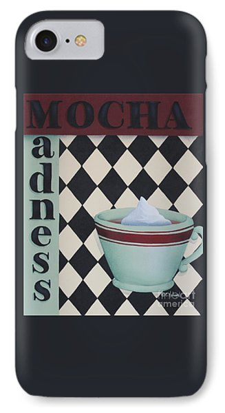 Mocha Madness Phone Case by Catherine Holman