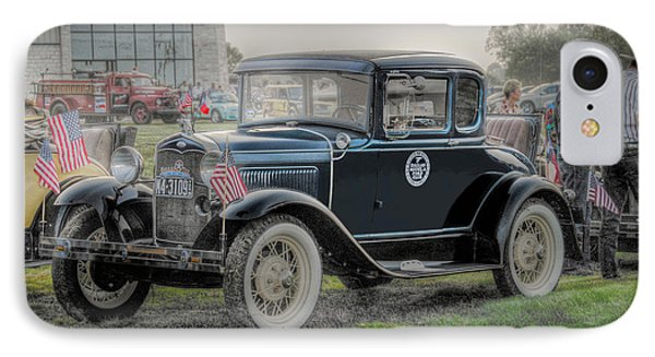 IPhone Case featuring the photograph Model A Ford  by Dyle   Warren