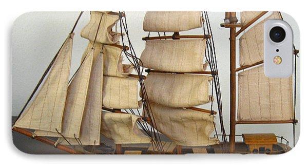 Model Sailing Ship IPhone Case