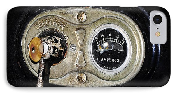 Model T Control Panel Phone Case by Al Powell Photography USA