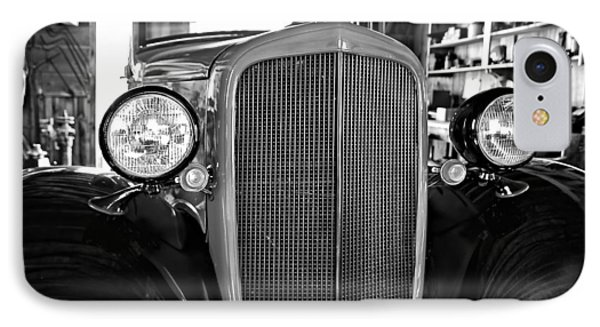Model T Ford Monochrome IPhone Case by Steve Harrington