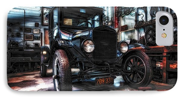 Model T In Hdr IPhone Case by Michael White