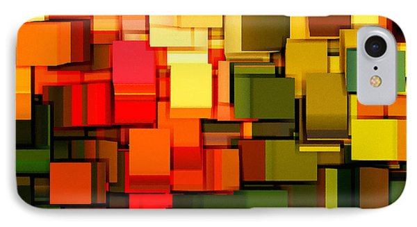 Modern Abstract I IPhone Case by Lourry Legarde
