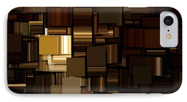 Modern Abstract Iv IPhone Case by Lourry Legarde