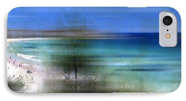 Modern-art Bondi Beach IPhone Case