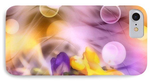 Modern Bouquet IPhone Case by Georgiana Romanovna