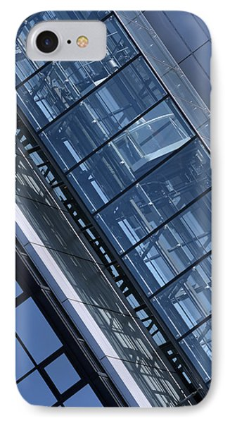 Modern Building Elevator IPhone Case by Tommytechno Sweden