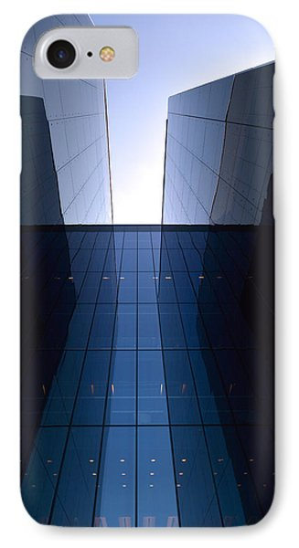 Modern Building Vertical IPhone Case by Tommytechno Sweden