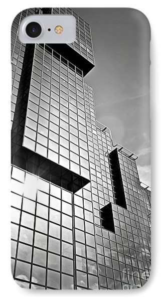 Modern Glass Building IPhone Case by Elena Elisseeva