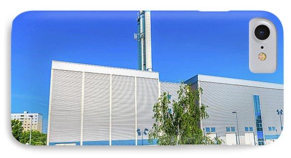 Modern Industrial Building IPhone Case