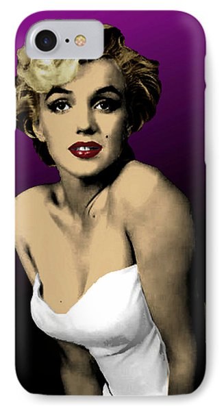 Modern Marilyn IPhone Case