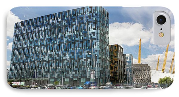 Modern Office Buildings In Greenwich IPhone Case by Ashley Cooper