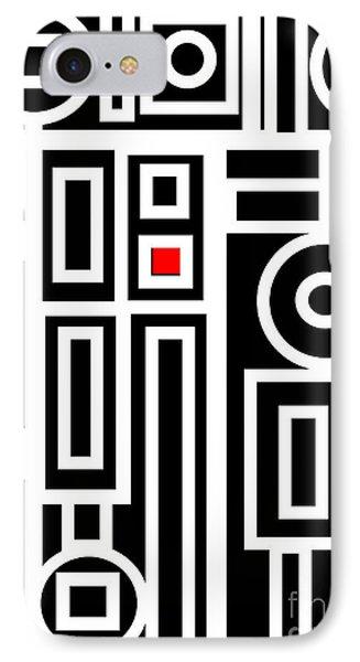 Modern Vibe 7 IPhone Case by Roz Abellera Art