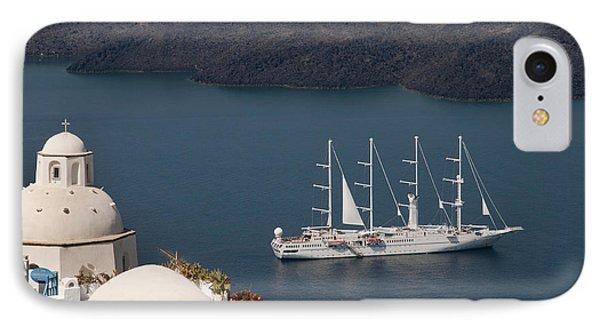 Modern Windpowered Ship IPhone Case