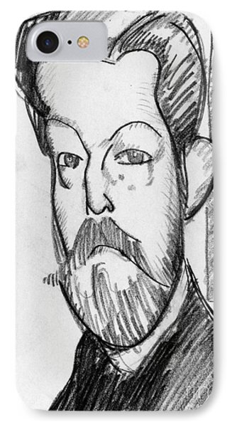 Modigliani - Paul Alexander Phone Case by Granger