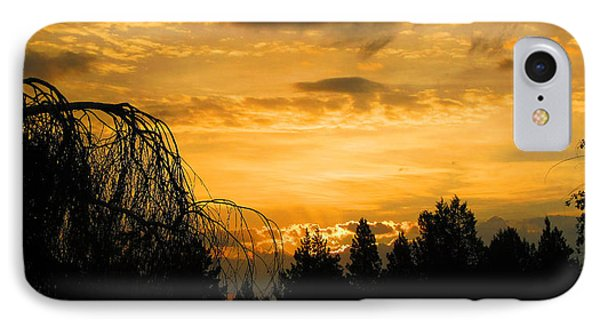 IPhone Case featuring the photograph Modoc Sunrise by Jennifer Muller