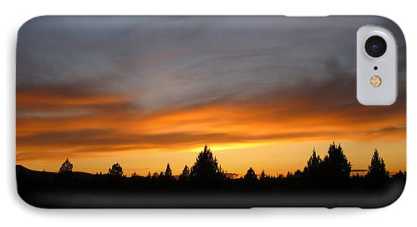 Modoc Sunset IPhone Case by Jennifer Muller