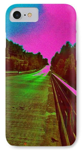 Moffit Bridge And Maple Ridge Rd. IPhone Case by Daniel Thompson