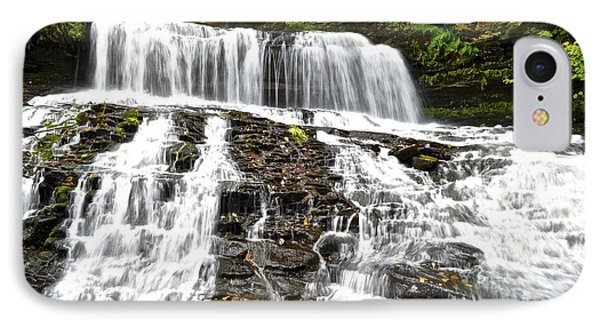 Mohawk Falls Phone Case by Frozen in Time Fine Art Photography