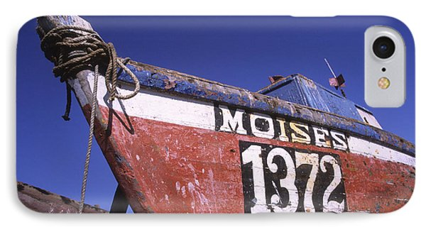 Moises The Fishing Boat Phone Case by James Brunker