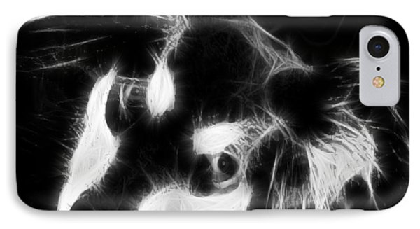 Moja - Black And White Phone Case by Marlene Watson