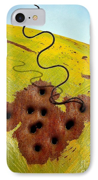 Mojave Bus IPhone Case by Michael Cinnamond