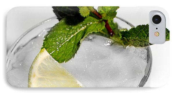Mojito Detail IPhone Case by Gina Dsgn
