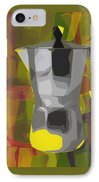 Moka Pot IPhone Case by Jean luc Comperat