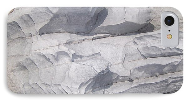 IPhone Case featuring the photograph Molded Rocks by Sheila Byers