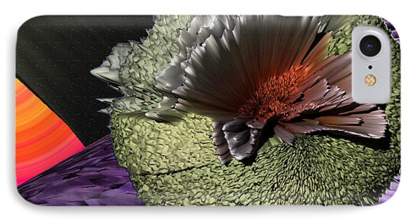 Molecular Explosion IPhone Case by Camille Lopez