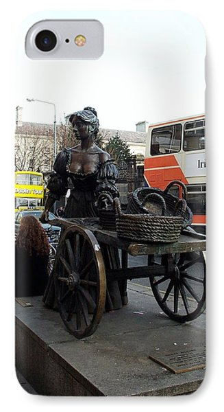 IPhone Case featuring the photograph Molly Malone by Barbara McDevitt