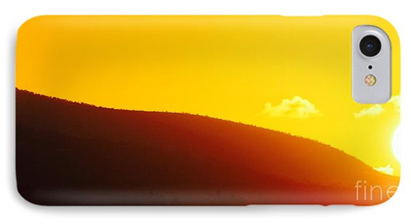 Molokai Sunrise IPhone Case by Fred  Sheridan