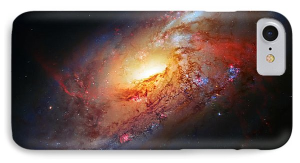 Molten Galaxy IPhone Case