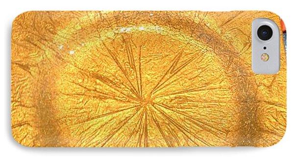 Molten Gold Bowl Sculpture Phone Case by Rick Silas