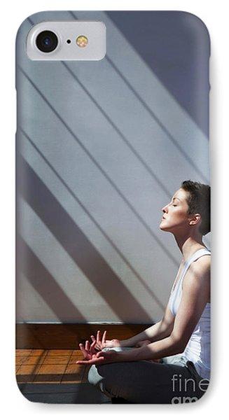 Moment Of Zen IPhone Case by Diane Diederich