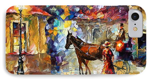 Momentary Stop Phone Case by Leonid Afremov