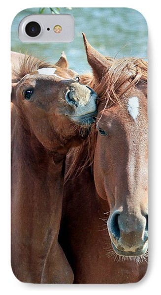 Mommy And Me Phone Case by Athena Mckinzie