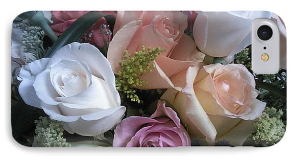 Moms Birthday Roses IPhone Case by Angelia Hodges Clay
