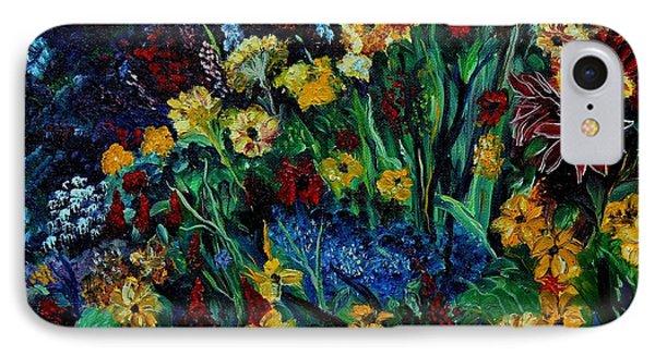 Moms Garden II IPhone Case by Julie Brugh Riffey